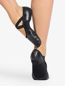 Womens Hanami Leather Split Sole Ballet Shoes