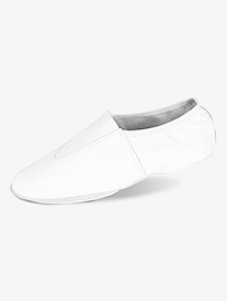 Womens Leather Split Sole Gymnastic Shoes