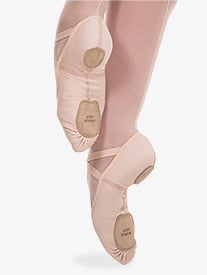 Girls 4-Way Total Stretch Ballet Shoes