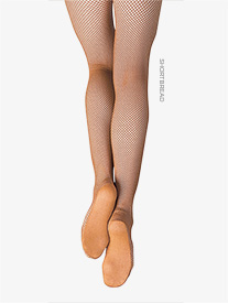 Child Professional Seamless Fishnet Tights