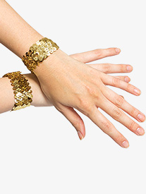 Girls Sequin Cuffs