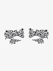 Fleurty  Self-Adhesive Face Lace