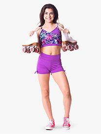 Teen Cassie Solid Dance Shorts