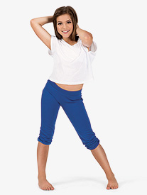 Girls Capri Sweat Pants