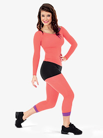 Adult/Child Low Rise Crop Tight