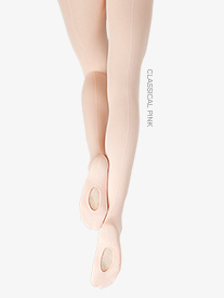 Child Seamed Professional Mesh Transition Tights