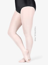 Adult Plus Size totalSTRETCH Convertible Tights
