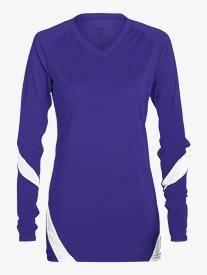 Womens Mesh Long Sleeve Fitness Top