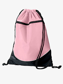 Tri-Color Drawstring Dance Bag