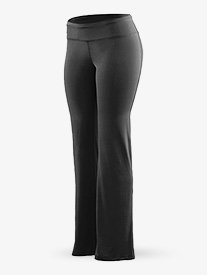 Ladies Wide Waistband Boot Cut Pants