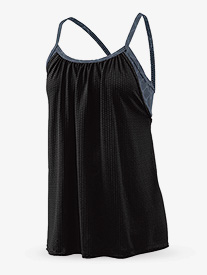Ladies Maze Mesh Double Layer Tank Top