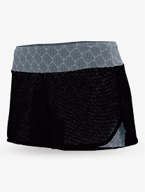 Ladies Maze Mesh Double Layer Shorts