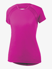 Womens Short Sleeve Active Top