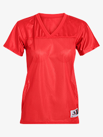 Girls Mesh Short Sleeve Jersey Tee