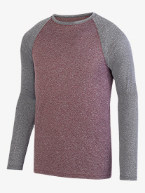 Mens Two-Tone Raglan Tee