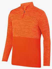 Mens Heather Quarter Zip Pullover