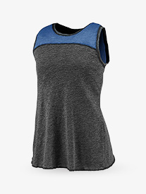 Ladies Overlapping Tank Top