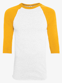 Mens 3/4 Sleeve Baseball Tee