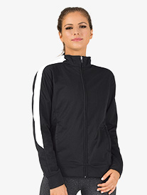 Adult Unisex Medalist Zip Front Warm-Up Jacket
