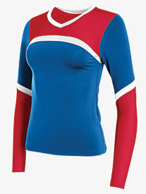 Womens Cheerflex Long Sleeve Shell