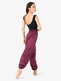 Womens Microtech Warm-up Dance Pants