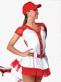 Womens Play Ball Tutu Dress Character Dance Costume Set
