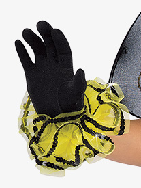 Girls Buzz Word Performance Gloves