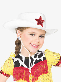 Girls Performance Cowgirl Hat