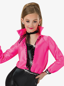 Womens I Got Chills Character Dance Costume Jacket