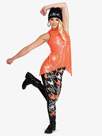 Girls Own It 2-Piece Hip Hop Dance Costume Set 5b6664124c9