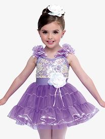 Girls Imagination Dance Costume Tank Tutu Dress