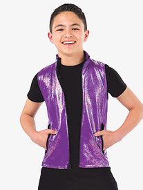 Mens Hold The Drama Metallic Performance Vest