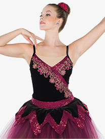 Womens Delight Of The Muses Romantic Ballet Performance Tutu Dress