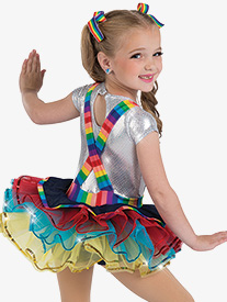 Girls Rainbow Rocks Character Performance Tutu Dress