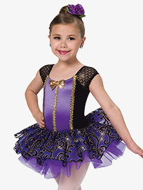 Girls Near To You Glitter Ballet Performance Tutu Dress