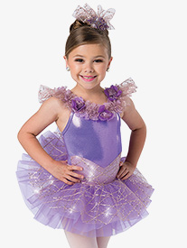 Girls Miracle Ballet Performance Tutu Dress