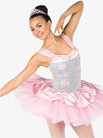 Womens Coronation Ballet Performance Platter Tutu Dress