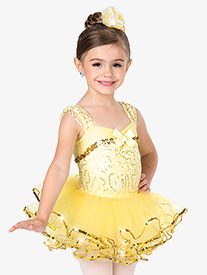 Girls Smile Performance Tutu Skirt
