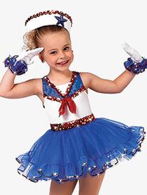 Girls Good Ship Lollipop Character Dance Tutu Dress