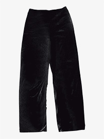 Boys Performance Velvet Boot Cut Pants