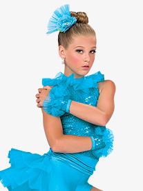 Girls Love U Betta Mitts Turquoise