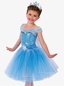 Child Elsa Off-the-Shoulder Character Costume Dress