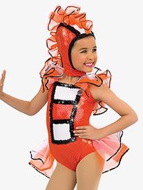 Child Just Keep Swimming Character Costume Halter Leotard Set