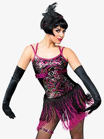 Adult I Gotcha Camisole Flapper Dress Costume Set