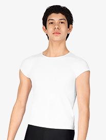 Boys Versatile Short Sleeve Snug Fit Pullover