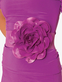 Womens Silk Floral Belt