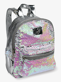 Pearlescent Reversible Sequin Dance Backpack