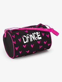 Hearts For Dance Duffel Bag