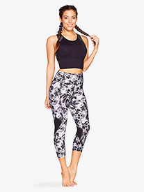 Womens Reverie Print High Waist Workout Leggings
