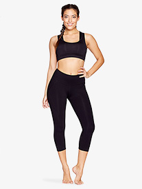 Womens Capri Workout Leggings